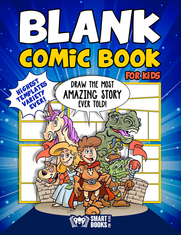 Blank Comic Book For Kids : Draw the Most Amazing Story Ever Told!